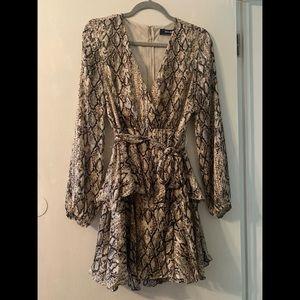 DO+BE - Snakeskin Dress - NEVER WORN